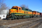 BNSF 2124 westbound